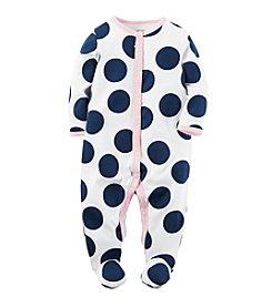 Carter's® Baby Girls' Polka Dot Footie