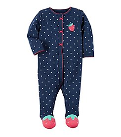 Carter's® Baby Girls' Strawberry Footie