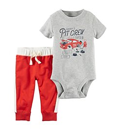 Carter's® Baby Boys' 2-Piece Pitcrew Bodysuit and Pants Set