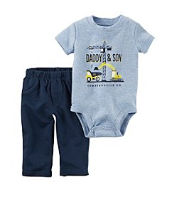 Carter's® Baby Boys' 2-Piece Daddy & Son Bodysuit and Pants Set