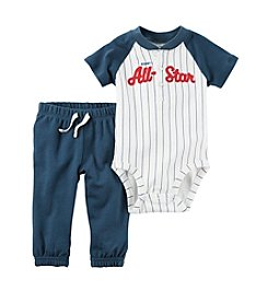 Carter's® Baby Boys' 2-Piece All-Star Bodysuit and Joggers Set