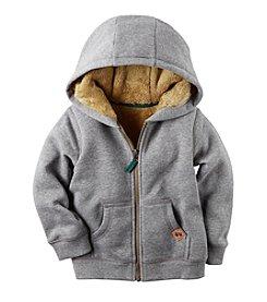 Carter's® Baby Boys' Fur Lined Hoodie
