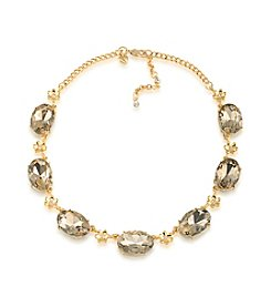 Carolee® Goldtone Stone Collar Necklace