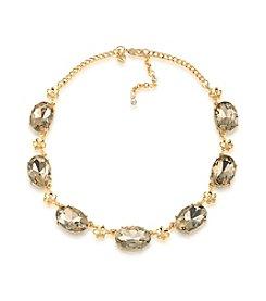 Carolee® Goldtone Stone Collar Necklace