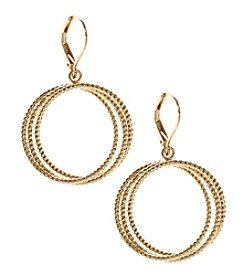 Anne Klein® Orbital Earrings