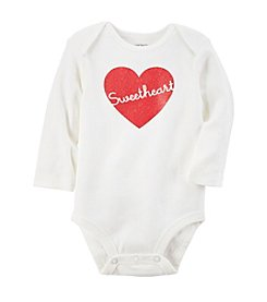 Carter's® Baby Girls' Glitter Sweetheart Bodysuit