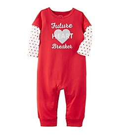 Carter's® Baby Girls' Future Heart Breaker Coverall