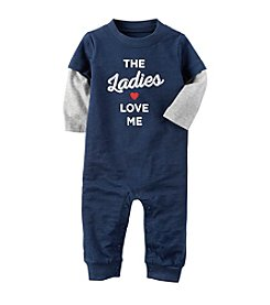 Carter's® Baby Boys' The Ladies Love Me Coverall