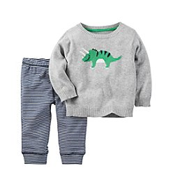 Carter's® Baby Boys' 2-Piece Triceratops Sweater and Pants Set