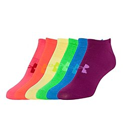 Under Armour® Girls' Liner No Show Socks