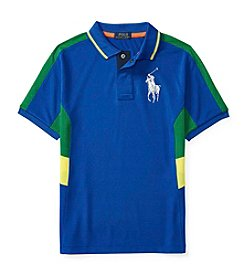 Polo Ralph Lauren® Boys' 8-20 Short Sleeve Pieced Polo