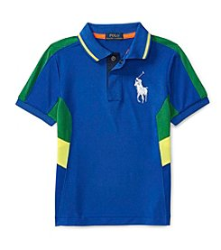 Polo Ralph Lauren® Boys' 2T-7 Short Sleeve Pieced Polo