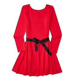 Polo Ralph Lauren® Girls' 7-16 Long Sleeve Princess Seam Dress