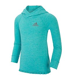 adidas® Girls' 2T-6X On The Run Clima Hoodie