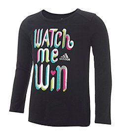 adidas® Girls' 2T-6X Watch Me Win Tee