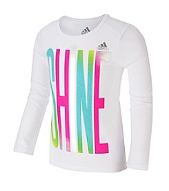 adidas® Girls' 2T-6X Shine Tee