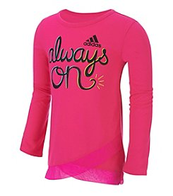 adidas® Girls' 2T-6X Always On Tee