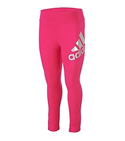 adidas® Girls' 2T-6X Cozy Tights