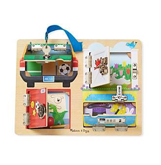 Melissa & Doug® Locks & Latches Board