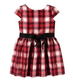 Carter's® Girls' 2T-4T Plaid Dress