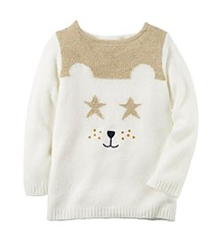 Carter's® Girls' 2T-8 Polar Bear Sweater
