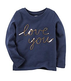 Carter's® Girls' 2T-8 Sequin Love You Tee