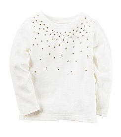 Carter's® Girls' 2T-8 Embellished Tee