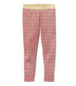 Carter's® Girls' 2T-8 Glitter Striped Leggings