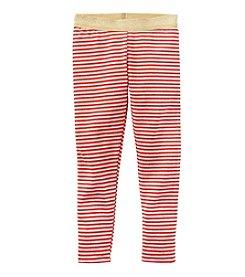 Carter's® Girls' 2T-8 Glitter Striped Leggings