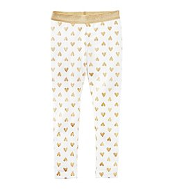 Carter's® Girls' 2T-8 Heart Leggings