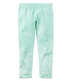 Carter's® Girls' 2T-8 Snowflake Leggings