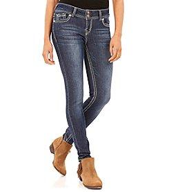 Wallflower® Snowflake Skinny Jeans