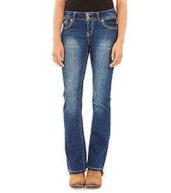 Wallflower® Flap Back Pocket Bootcut Jeans