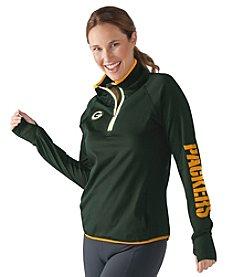 G III NFL® Green Bay Packers Women's Interval 1/2 Zip Pullover