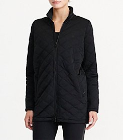 Lauren Active® Quilted Mock Neck Jacket