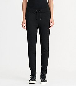 Lauren Active® Jersey Zip-Pocket Pants