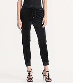 Lauren Active® Velour Track Pant