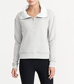 Lauren Active® Velour-Lined Pullover