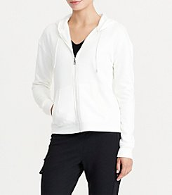 Lauren Active® Color-Blocked Velour Hoodie