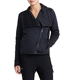 Lauren Active® Jersey Moto Jacket
