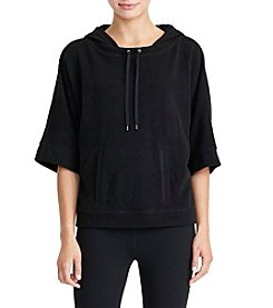 Lauren Active® Cotton-Blend Hoodie