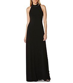 Laundry by Shelli Segal® High Neck Long Gown