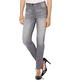 Rafaella® Petites' Denim with Benefits™ Comfort Waist Slim Leg Jeans