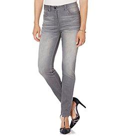 Rafaella® Petites' Comfort Waist Slim Leg Jeans