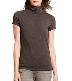 Lauren Ralph Lauren® Petites' Jersey Short-Sleeve Turtleneck
