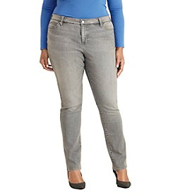 Lauren Ralph Lauren® Plus Size Premier Stretch Straight Jeans