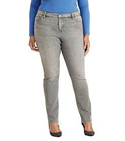 Lauren Ralph Lauren® Plus Size Premier Stretch Straight Jeans