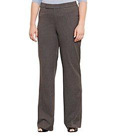 Lauren Ralph Lauren® Plus Size Stretch Twill Flared Pants