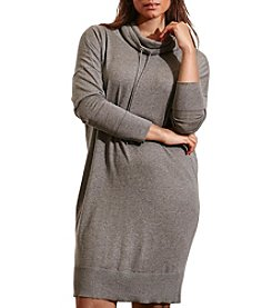 Lauren Ralph Lauren® Plus Size Jersey Funnelneck Dress