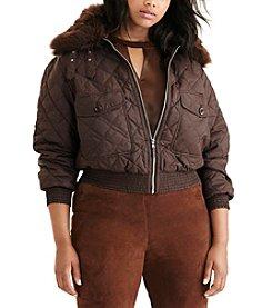 Lauren Ralph Lauren® Plus Size Quilted Bomber Jacket